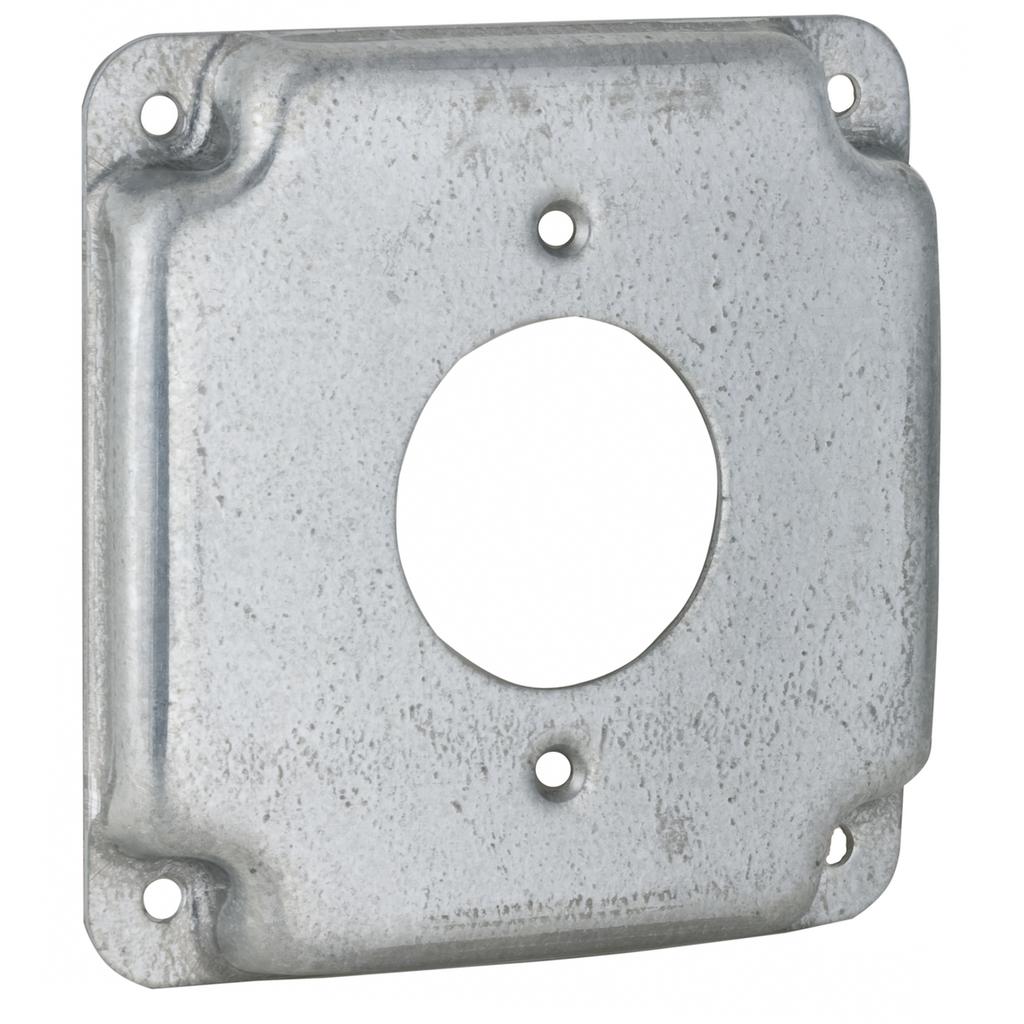 RACO 812C CC COVER 4SQ RSD1/2- 1-19/32DP Twist Lock RCPT ***