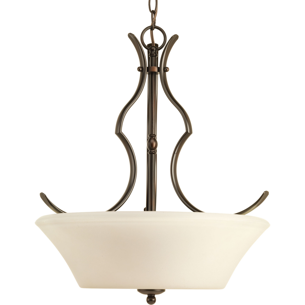 """Applause Collection Three-Light 19-5/8"""" Inverted Pendant - P3560-20"""
