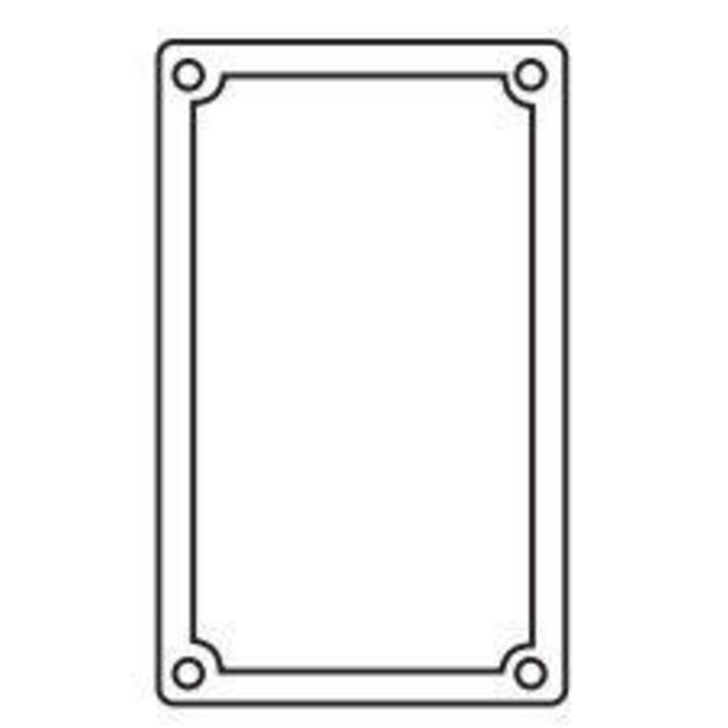 Hubbell Electrical Systems FSRG 1-Gang Box Neoprene Gasket