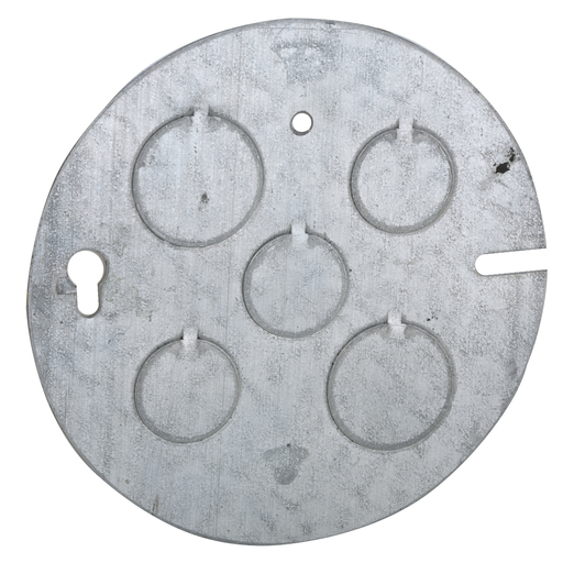 Raco 890 4-1/2 Concrete Ring Back Plate 1/2 & 3/4 Knockouts