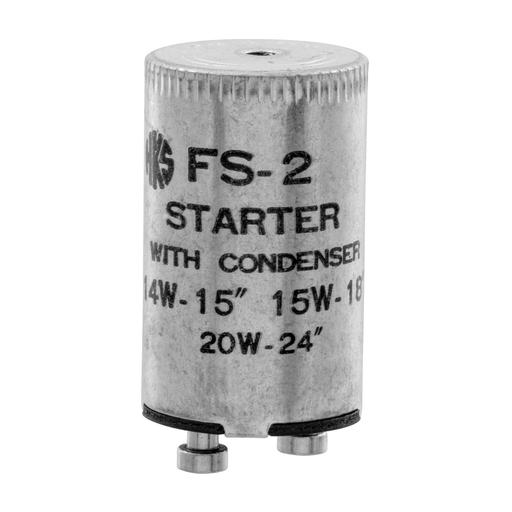 HUBW FS2 14-15-20W FLUOR STARTER