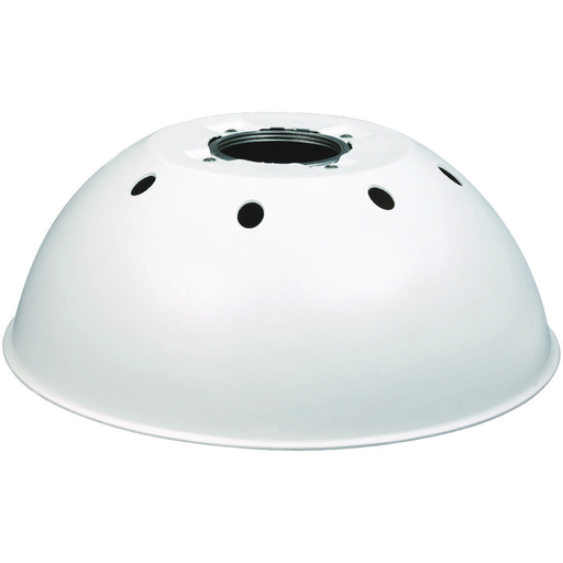 V Series - 100 Series Reflector - 16-3/8 In Diameter/5-5/8 In High -White Polypropylene For Pendant And Ceiling Applications