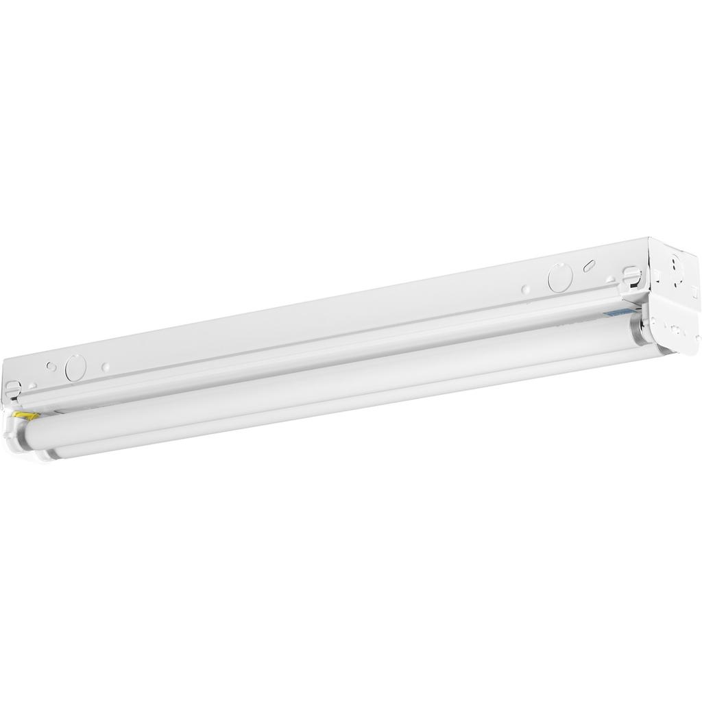 Two-Light 2' Modular Fluorescent Strip Light - P7266-30EB