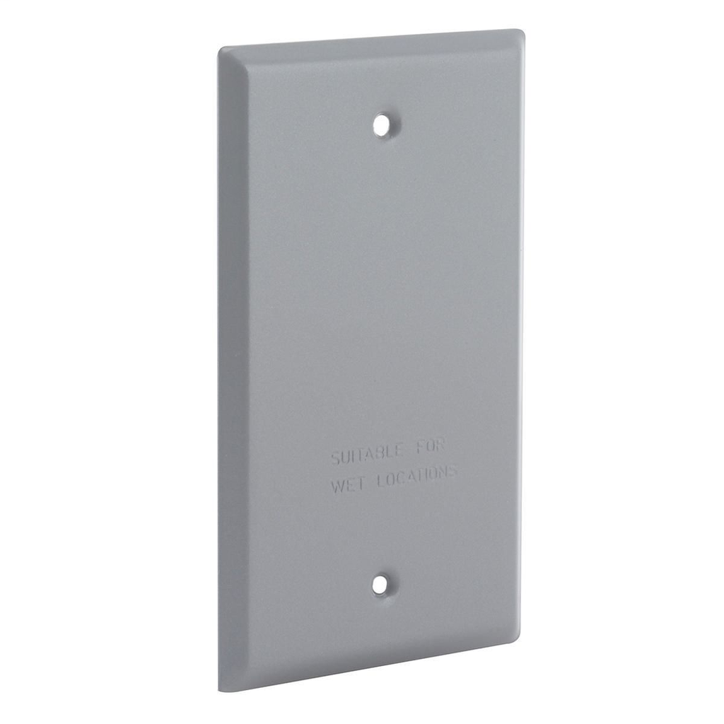 RACO 5173-0 (WCB) Weatherproof Single-Gang Blank Cover