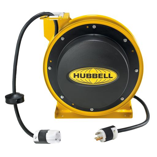 HUBW HBL45123C IND CORD REEL W/CONN