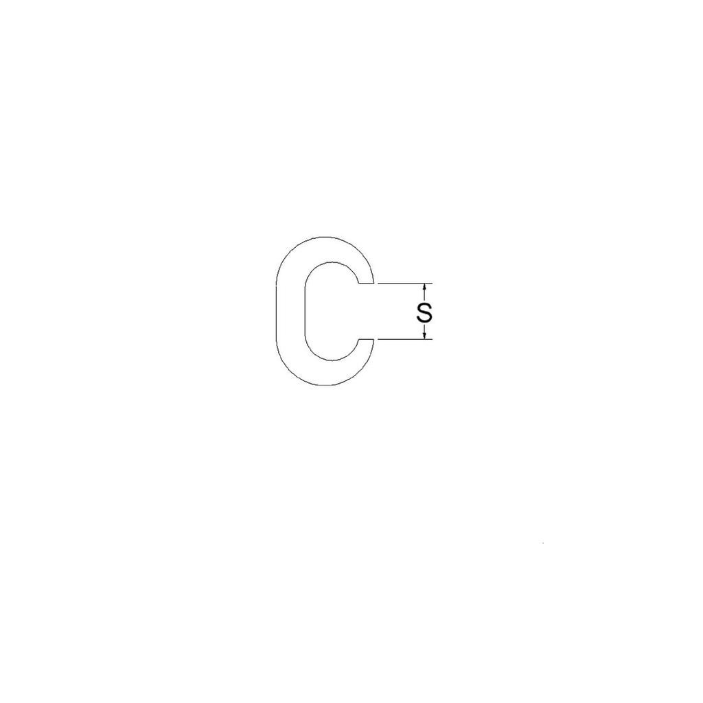BURNDY,YGC6C6,CRIMPIT 6 SLO/STR