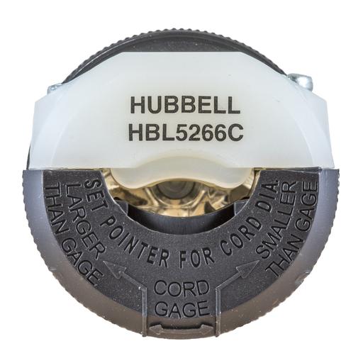 HUB HBL5266C 15A-125V NYL PLUG TOP 500 ITEM