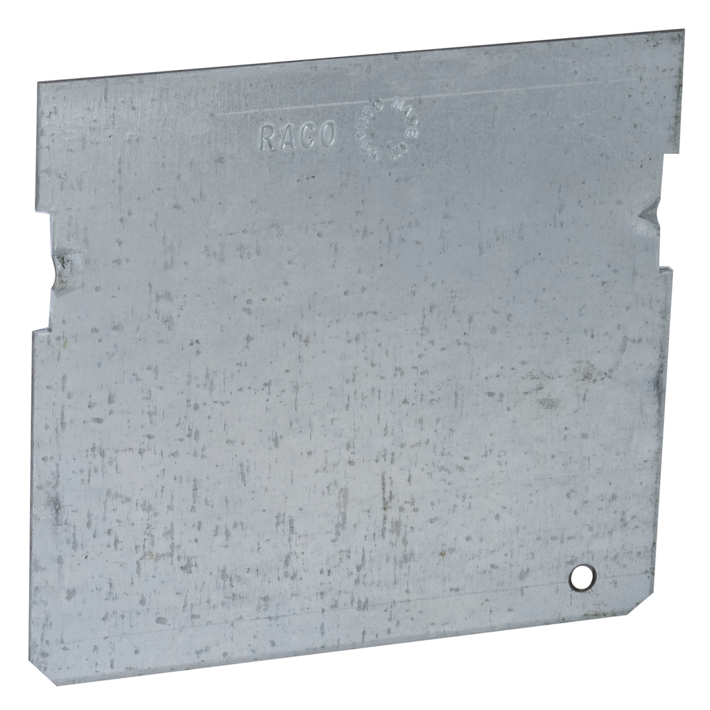 RACO 676 3-1/2 Inch Pre-Galvanized Steel Gangable Masonry Box Low Voltage Partition