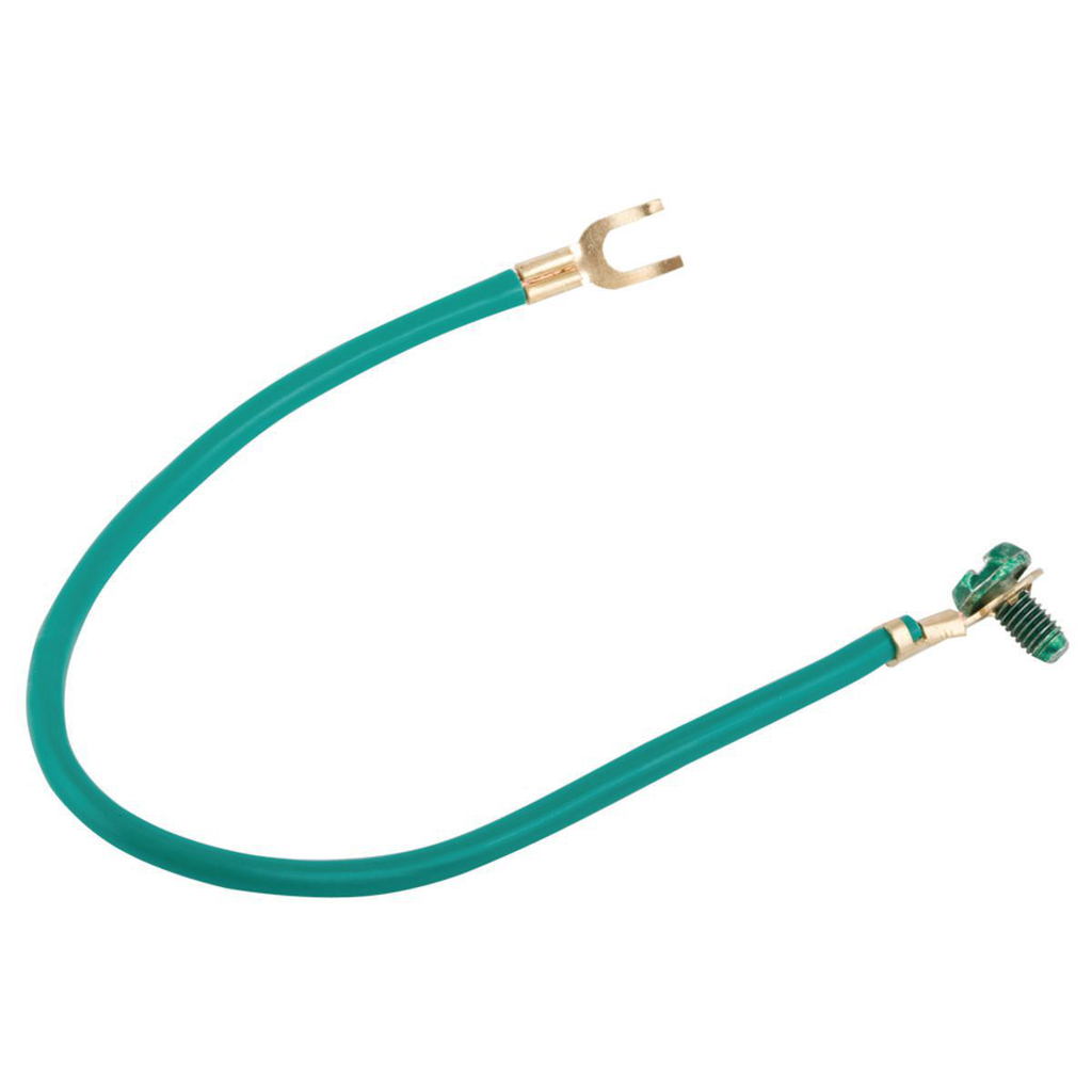 RACO 993 8 Inch 12 AWG Stranded Copper Green Grounding Pigtail