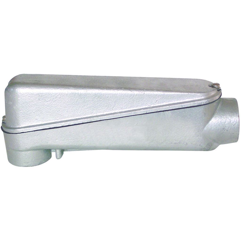 Hubbell Electrical Systems MOLBD-8M 3 Inch Hot Dipped Galvanized Cast Iron Type LB Mogul Conduit Body