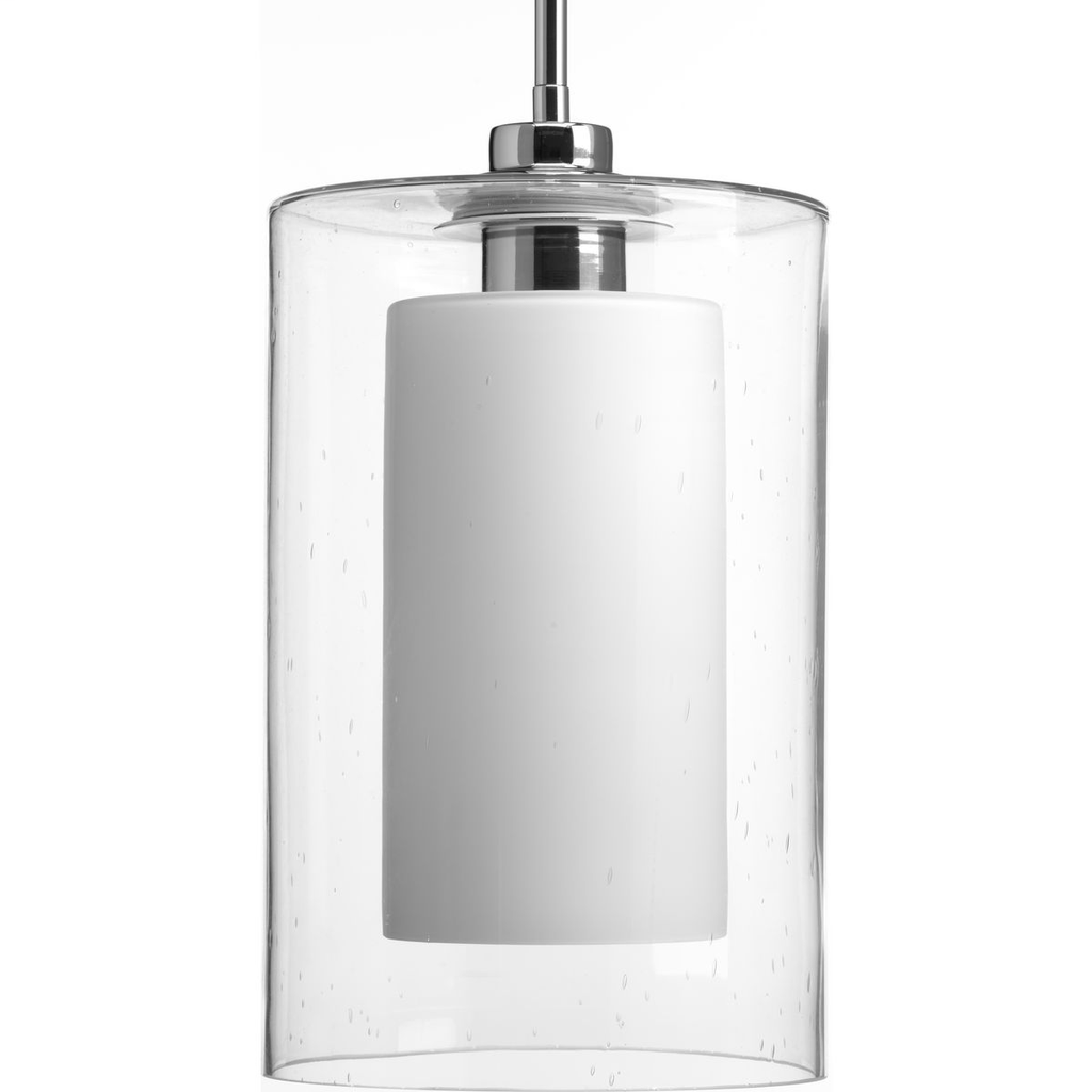 Double Glass Collection One-Light Pendant - P500019-015