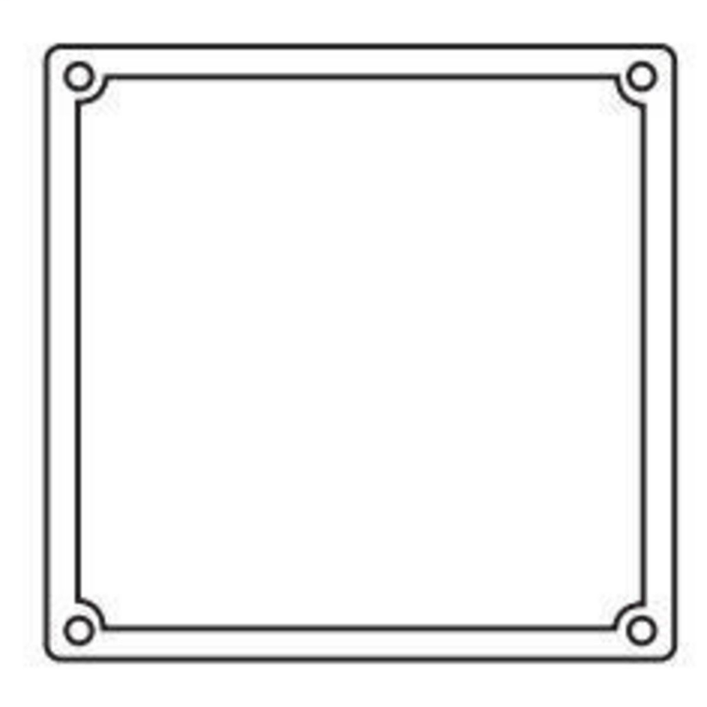Hubbell Electrical Systems 2FSRG 2-Gang Box Neoprene Gasket