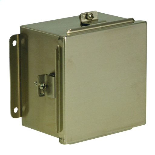 N4X JIC Lift-Off Cover 6X6X4 304 Stainless Steel