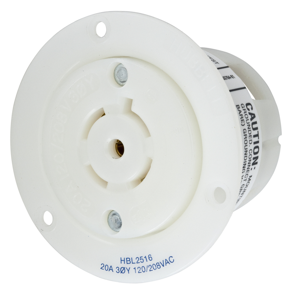 Insulgrip Flanged Receptacle