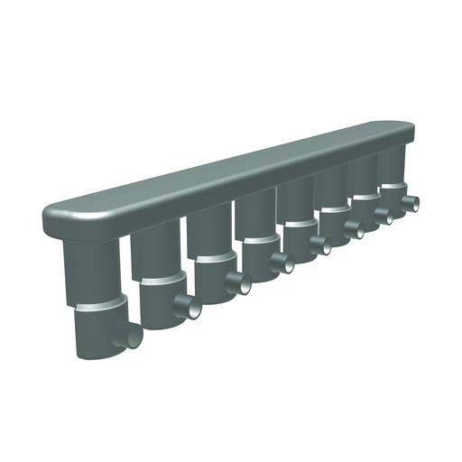 URD Mole, #4 Str. - 250 kcmil Al or Cu 300 kcmil - 350 kcmil, 600 Volt Rating, 5.81 in L