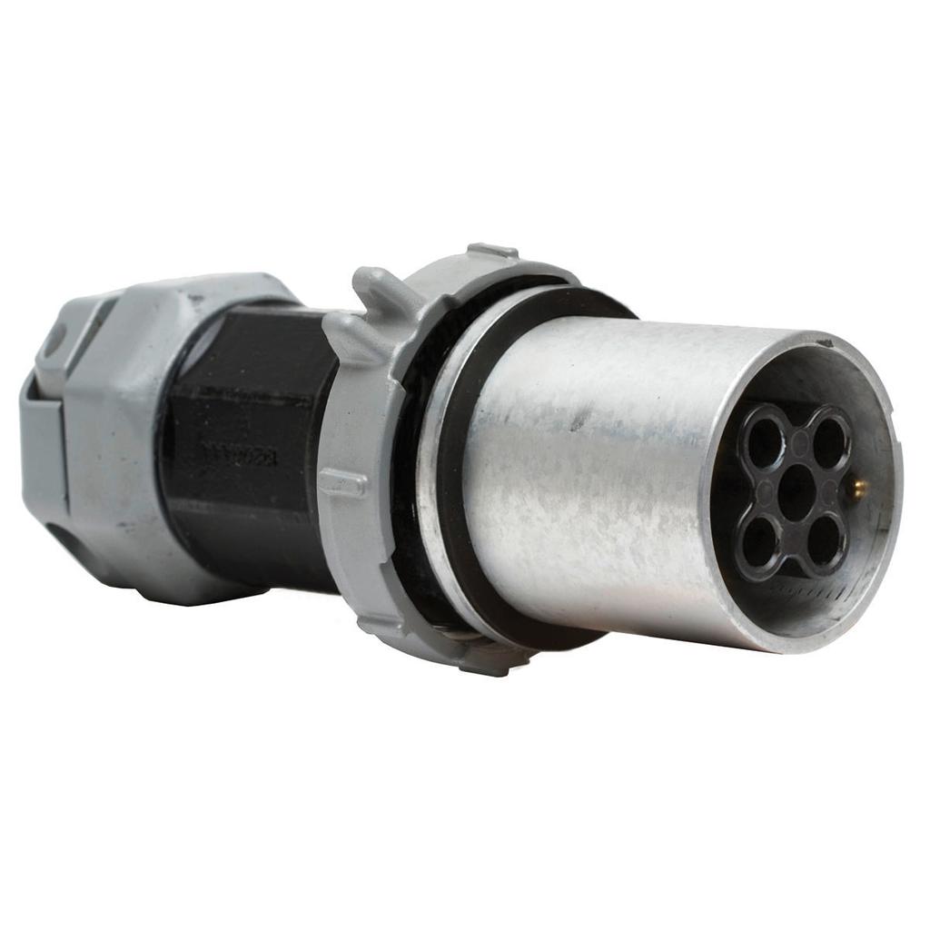 Watertight Insulgrip Plug, 4P5W, 200A 600V, Series 1 Reversed Service
