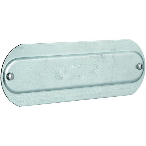 """3/4"""" Stamp Aluminum O series Conduit Cover"""