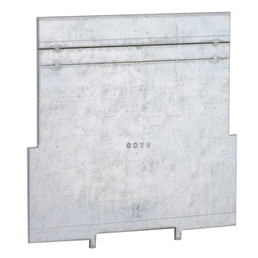 RACO 708 4 x 4 x 1-1/2 Inch Pre-Galvanized Steel Square Box Low Voltage Partition