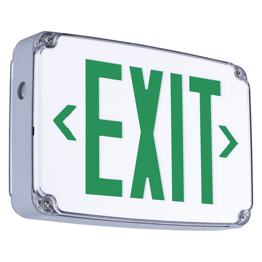 CMPS CEWDGE GRN LED EXIT SIGN