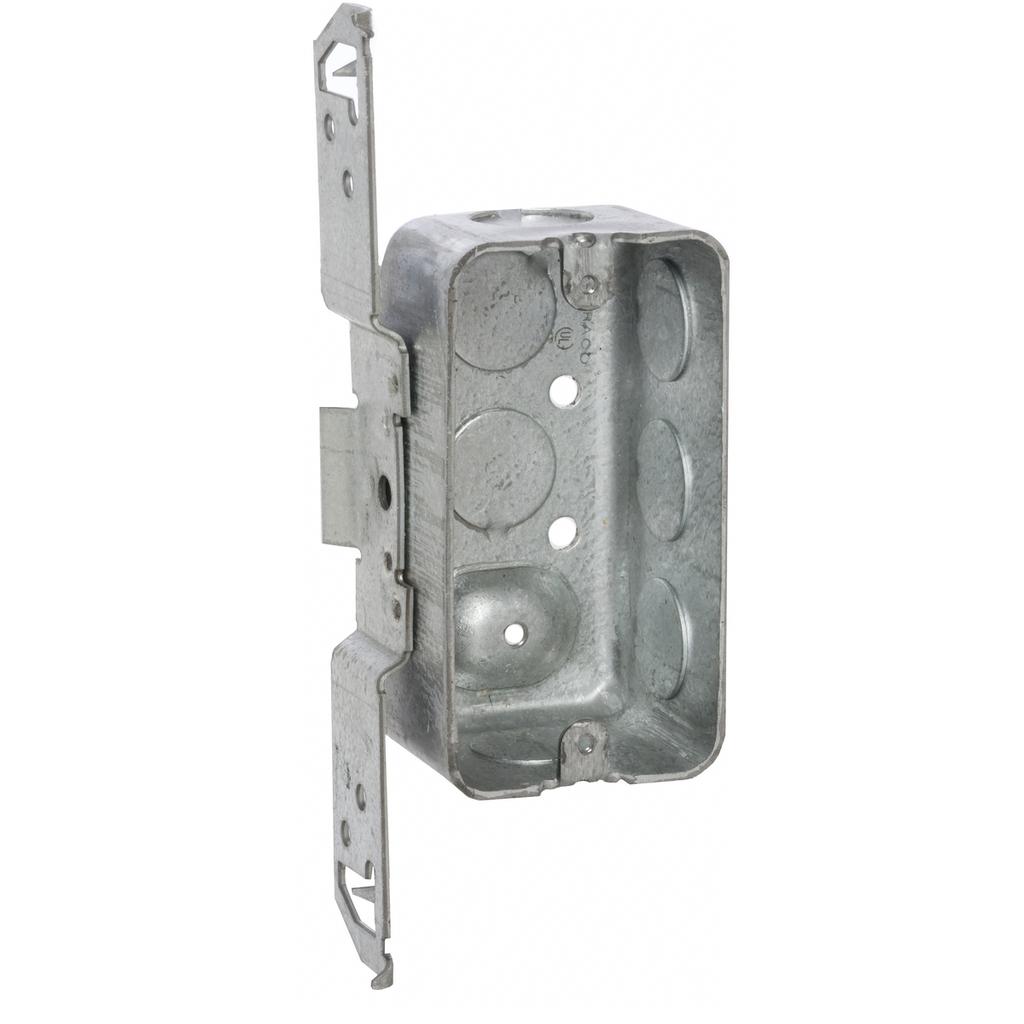 Raco 662 4 x 2-1/8 x 1-7/8 Inch 13 In Steel Utility Box