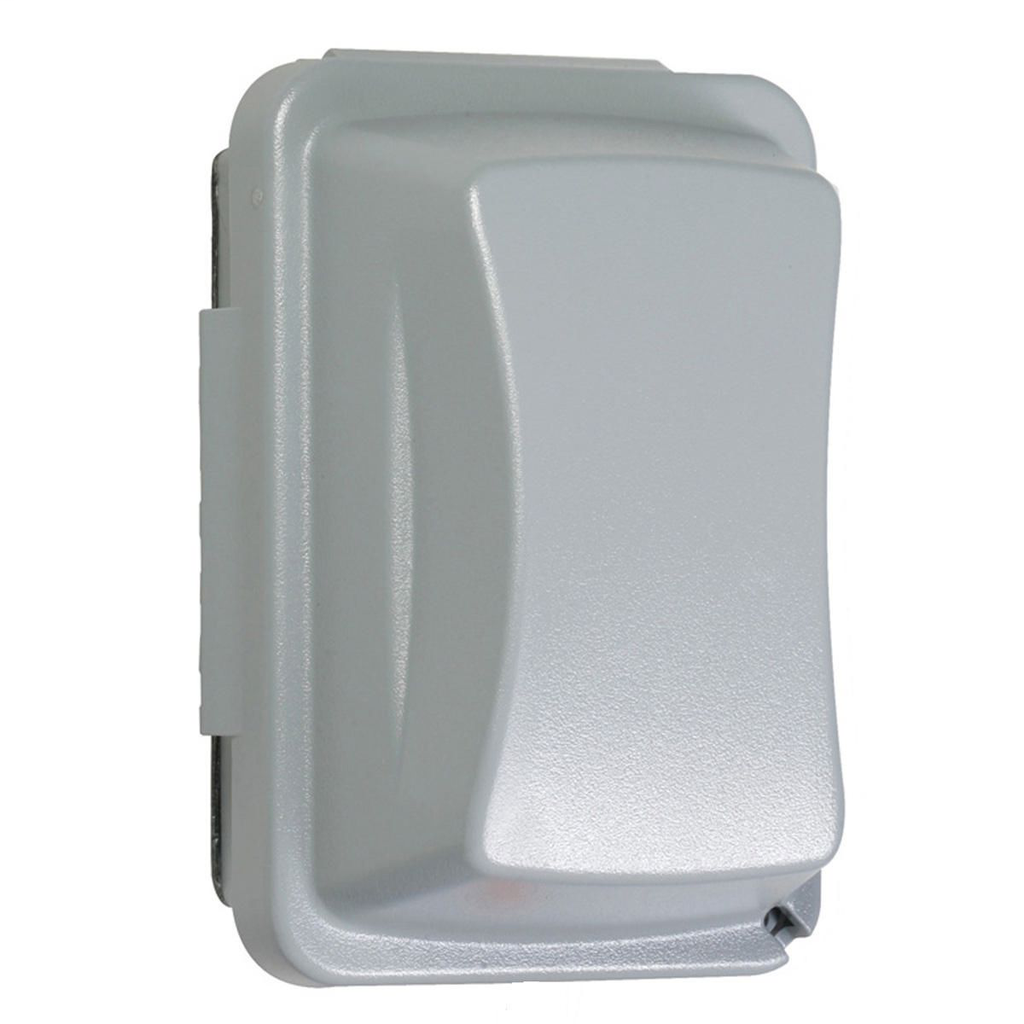 TayMac Corp MM410G 1-Gang Gray Polycarbonate Horizontal and Vertical Mount Weatherproof While-In-Use Device Cover