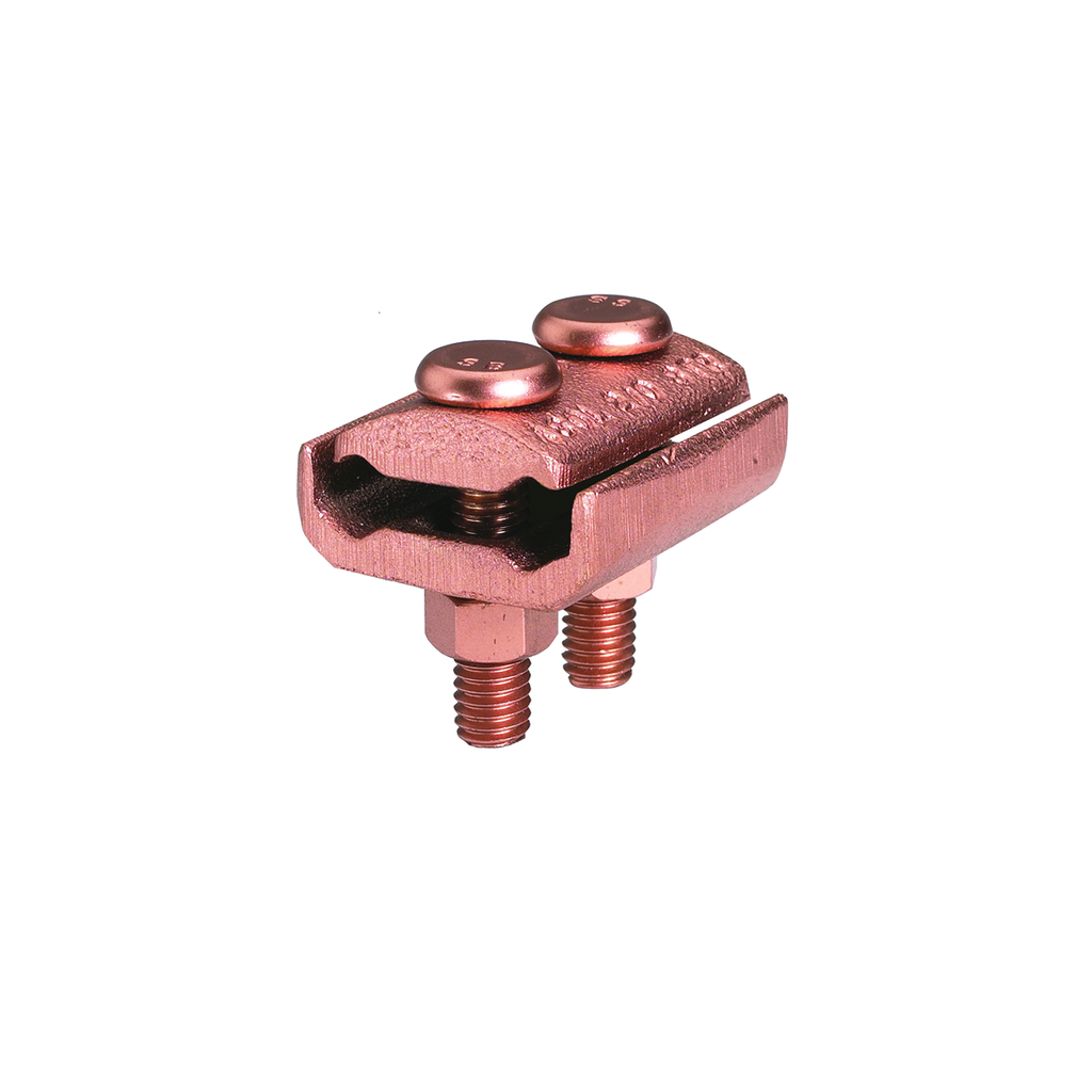 Burndy GL4C4C 8 - 4 AWG 2 Copper Cable to Bar Connector