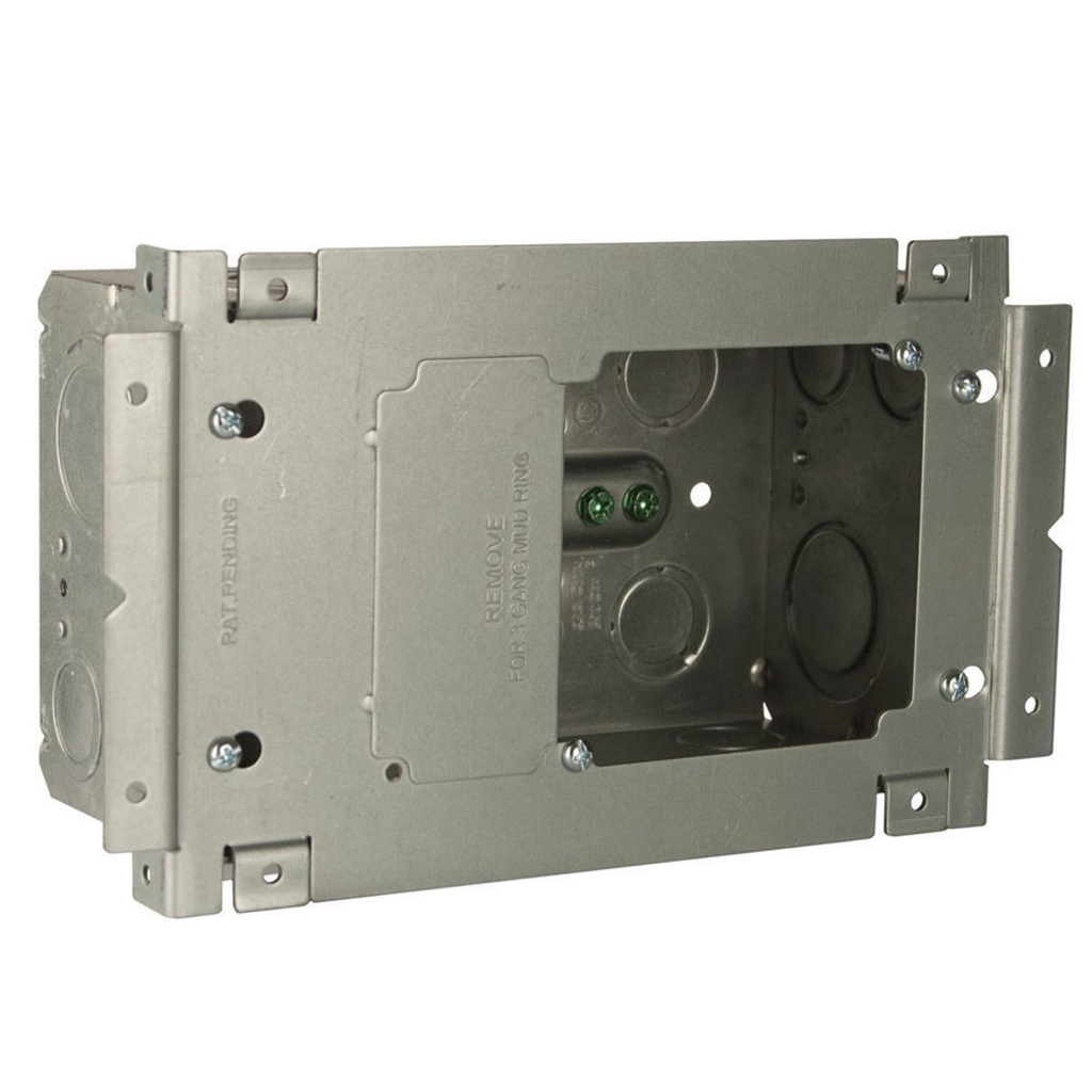 Raco 263 4-11/16 x 7-7/8 Inch Data Box with Assembly Plate