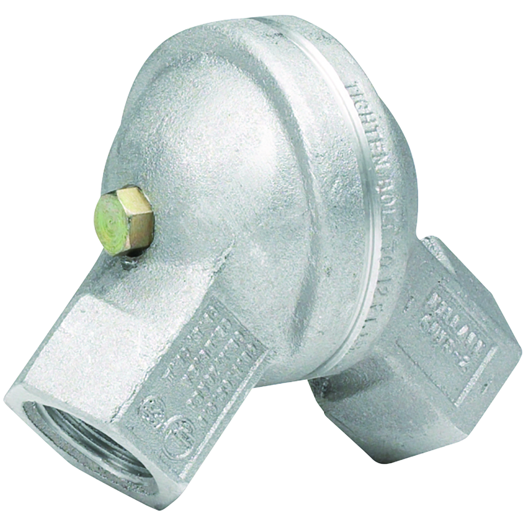 Hubbell Electrical Systems GUFS-2 3/4 Inch Female-to-Female Copper Free Aluminum 180 Degrees Conduit Swivel Elbow