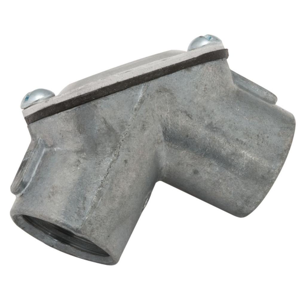 RACO 2653 3/4 Inch Die-Cast Zinc 90 Degrees Threaded Handy Rigid/IMC Elbow