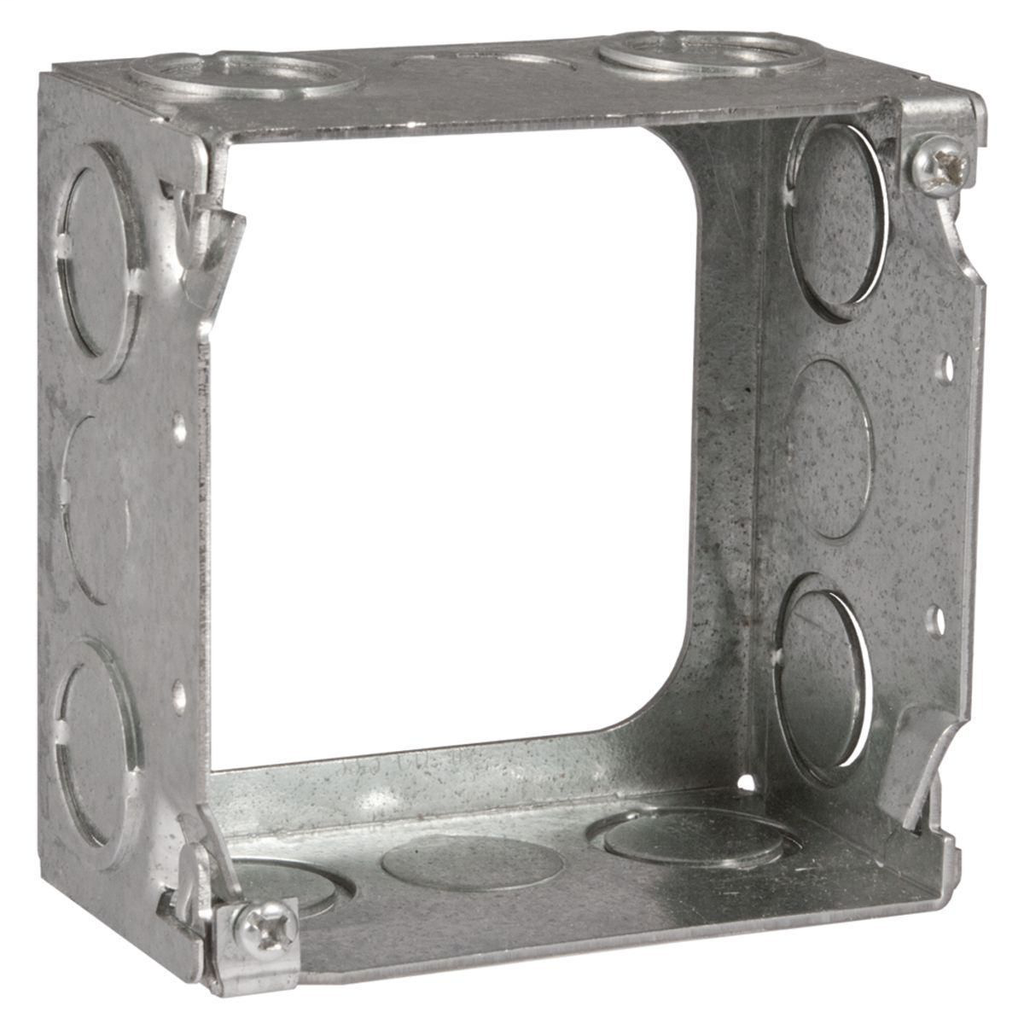 Raco 207 4 x 4 x 2-1/8 Inch Steel Square Cover Extension Ring