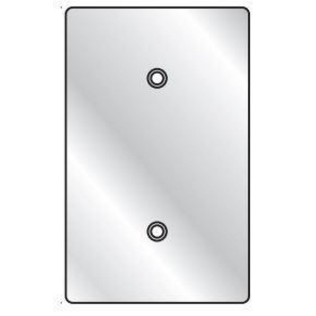 Hubbell 1FBC 1-Gang Coated Blank Cover