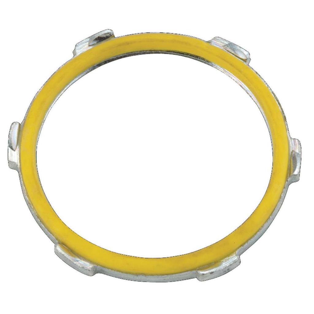 Raco 1210 3-1/2 Inch Malleable Iron Rigid Conduit Sealing Locknut