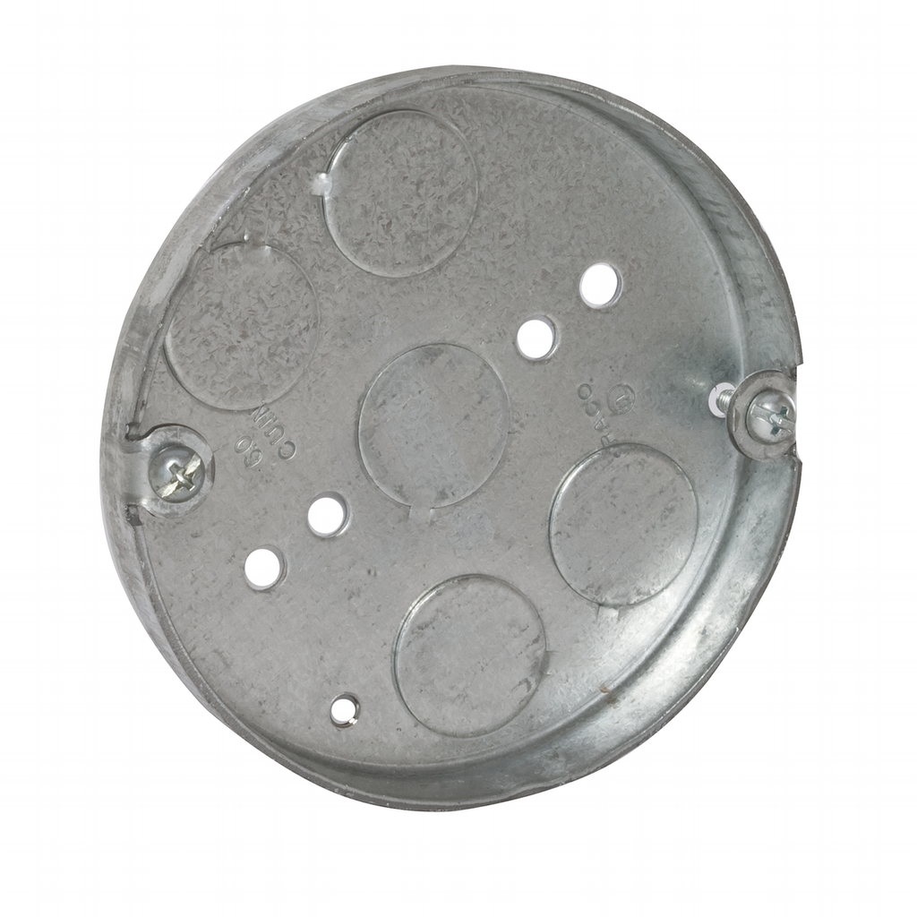 Raco 293 4 x 1/2 Inch 6 In Steel Round Ceiling Pan