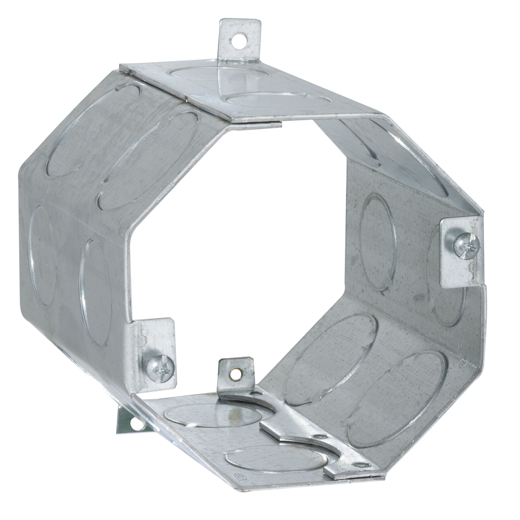 RACO 279 4 Inch 49.3 In Pre-Galvanized Steel Octagon Concrete Ring