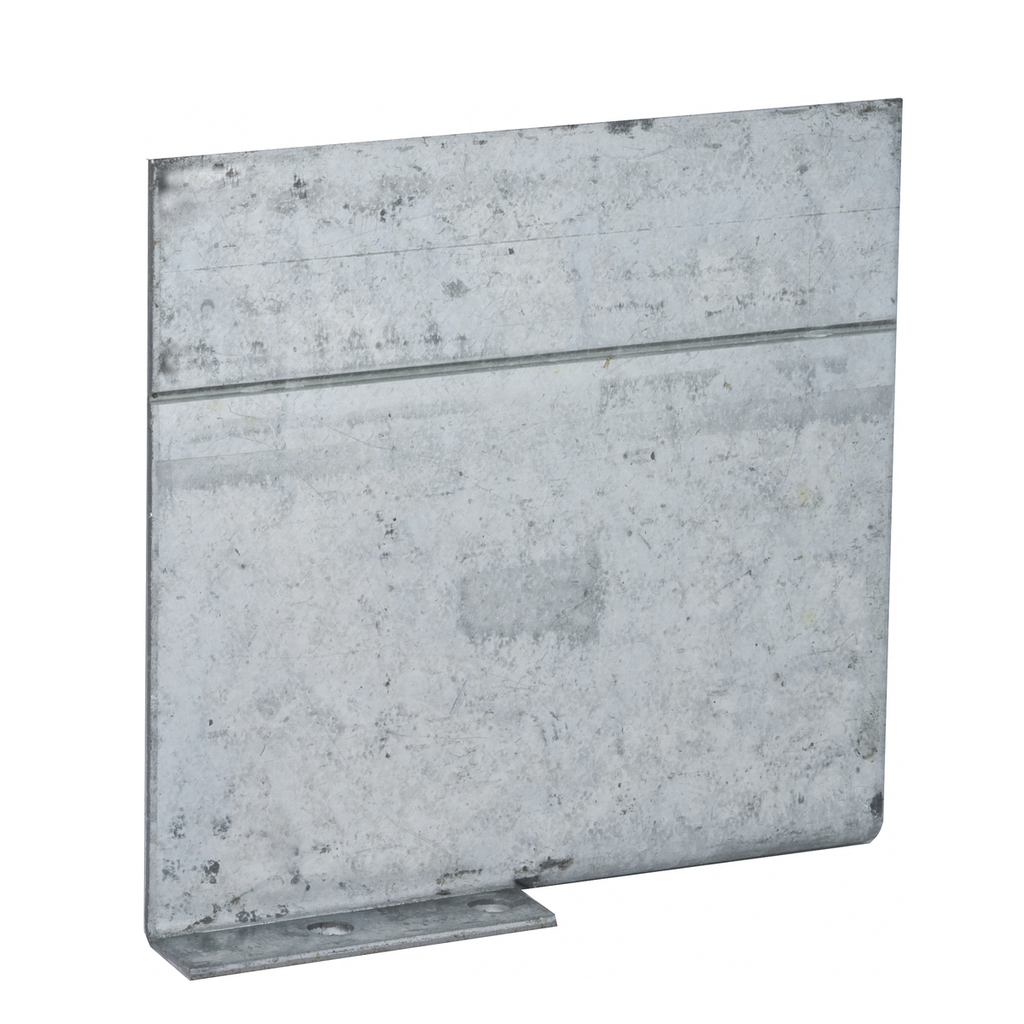 RACO 971 2-1/2 or 3-1/2 Inch Pre-Galvanized Steel Non-Gangable Masonry Box Low Voltage Partition