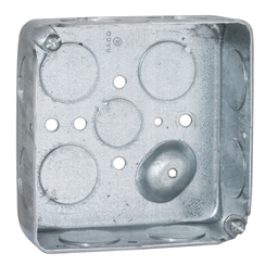 Hubbell-Raco 878 1//2-Inch Raised Square Cover with 2.14-Inch Diameter 30-50 Amp