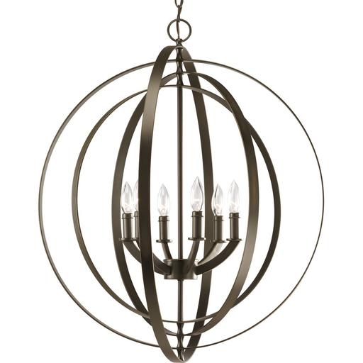Mayer-Equinox Collection Six-Light Foyer Pendant-1