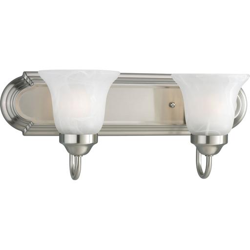 Mayer-Alabaster Glass Two-Light Bath & Vanity-1
