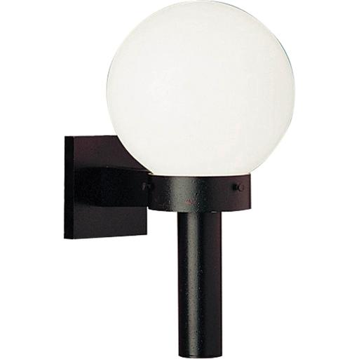 Acrylic Globe One-Light Wall Lantern