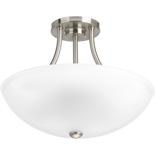 """Mayer-Gather Collection Two-Light 12-7/8"""" Semi-Flush Convertible-1"""