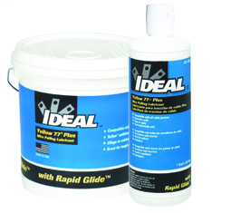 IDEAL 31-398 1-Quart Yellow 77 Plus Wire Pulling Lubricant, Squeeze Bottle