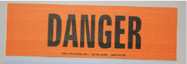 IDE 44-314 MARKER CARD,ONE MARK CARD