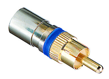 IDE 92-582 RG-6 RCA COMPRN CONN