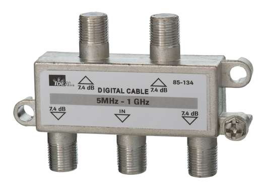 IDEA 85-134 4-WAY SPLITTER 5-1 GHZ
