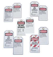 IDE 44-1830 DO NOT OPER TAG