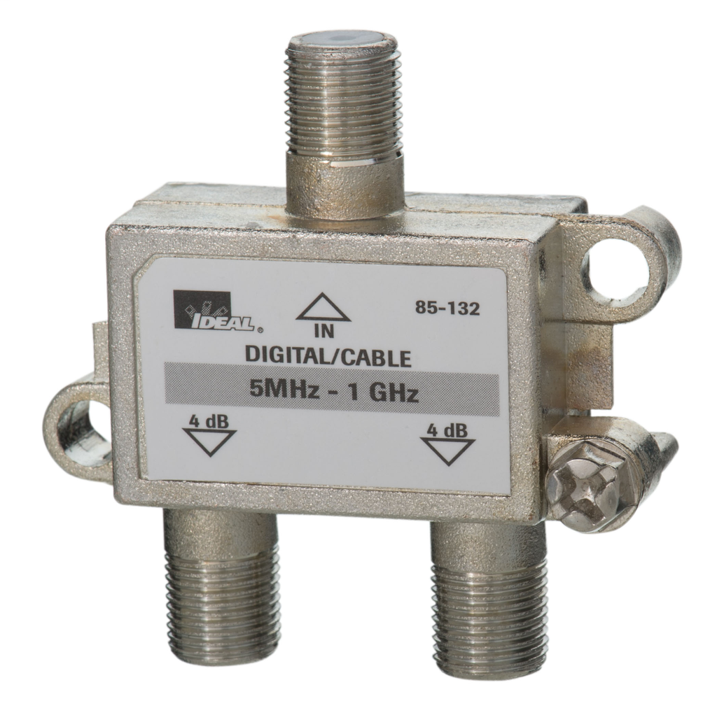 IDEAL,85-132,2-WAY SPLITTER 5-1 GHZ