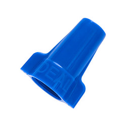 IDE 30-654 WINGNUT 454 BLU 100PC BAG