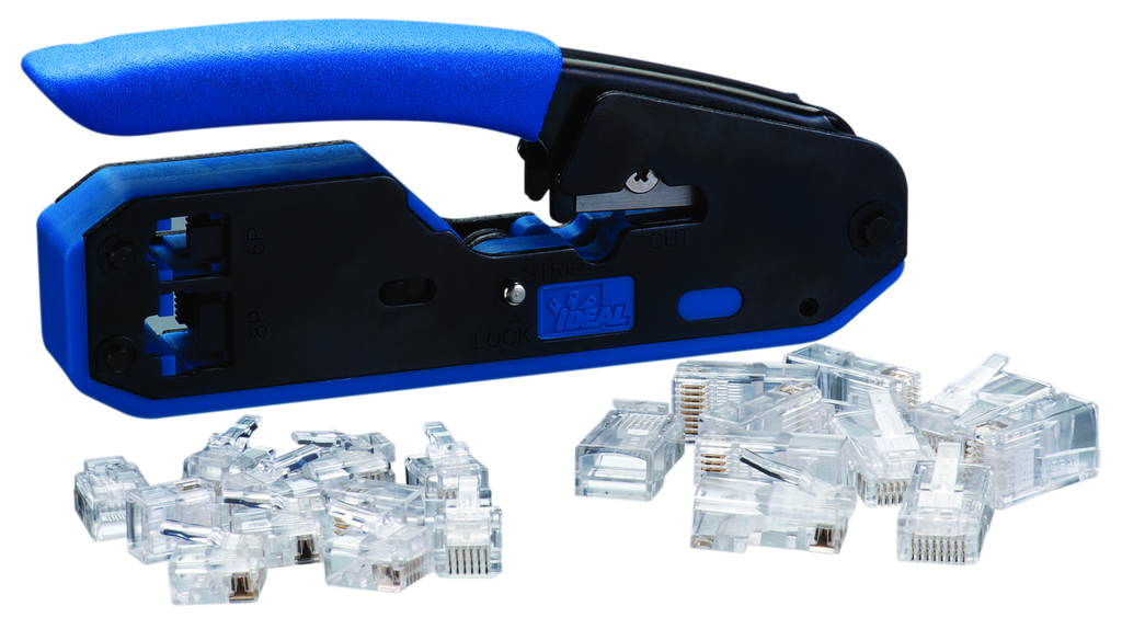 Data/Voice Modular Plug Crimp Tool Kit