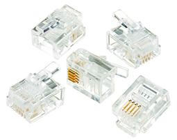IDEAL,85-344,RJ-11 6 POS 4 CONTCT MOD PLUGS