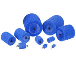 IDEA 31-325 Foam Carrier,Ideal,4.000 IN Diameter,PKG: 1/Bag,For Any Type Of BLWR Or VCUM SYS